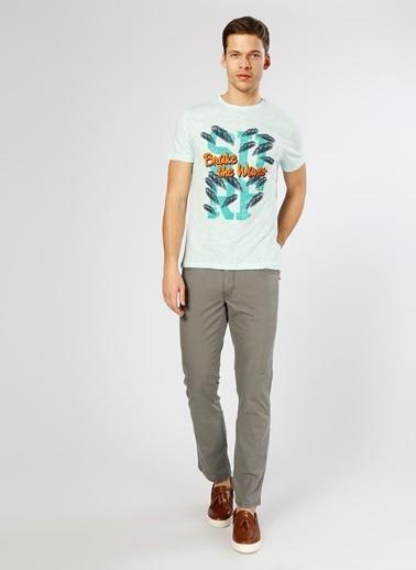 Lee&Wrangler Klasik Pantolon Gri